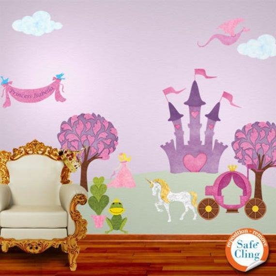 Best Princess Wall Decals For Girl Room Jumbo Set With Pictures