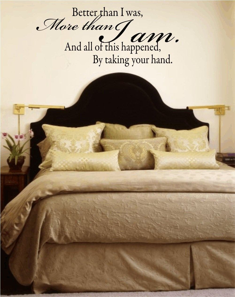 Best Wall Decal Quote Better Than I Was More Than I Am By Wallartsy With Pictures