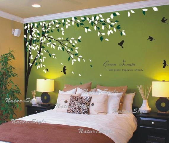 Best Nursery Wall Decal Bedroom Vinyl Wall Decals Birds Wall With Pictures