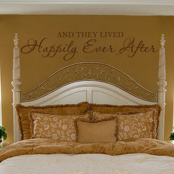 Best Romantic Wall Decal Bedroom Quote Vinyl Lettering Decor And With Pictures