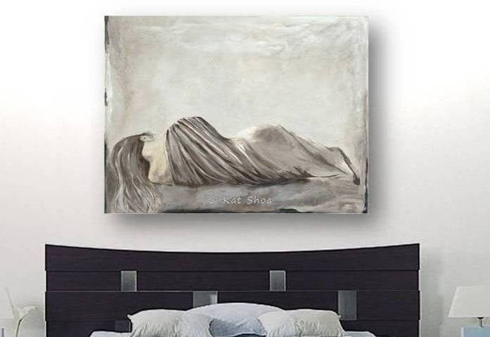 Best Very Large Wall Art S*Xy Bedroom Wall Decor Woman By With Pictures