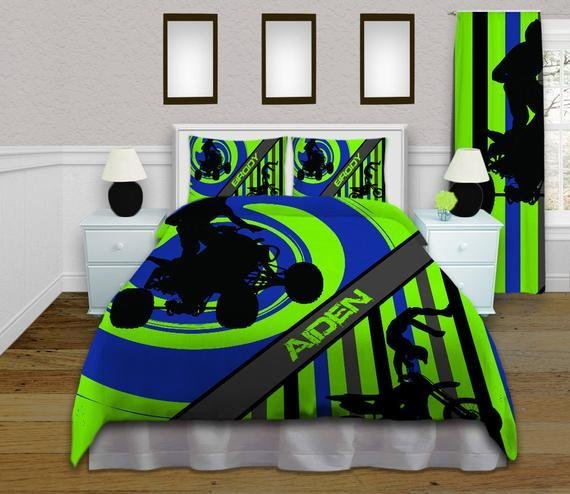 Best Dirt Bike Bedding Set Motocross Bedding For By With Pictures