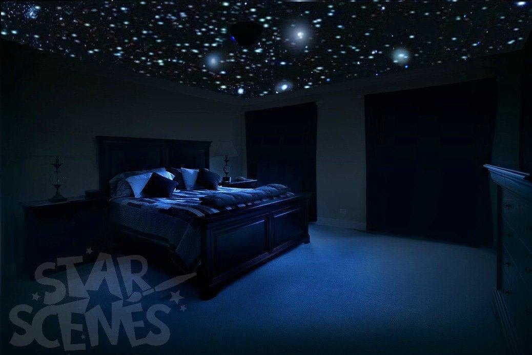 Best Ceiling Stars For Romantic Bedroom Diy Glow In The Dark Star With Pictures