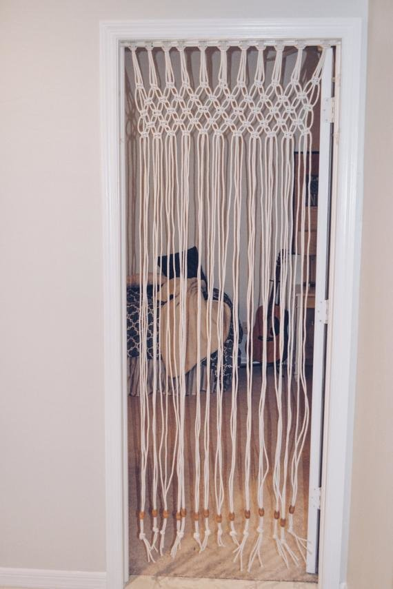 Best Macrame Door Curtain Boho Decor T**N Gift T**N Bedroom With Pictures