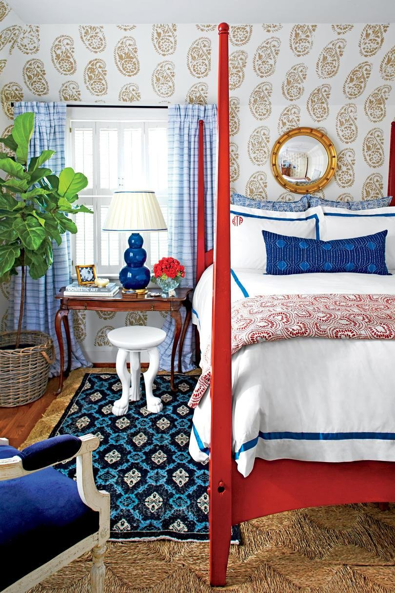 Best Beautiful Blue Bedrooms Southern Living With Pictures