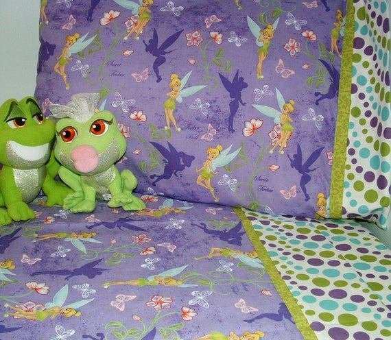 Best Items Similar To Girl Toddler Bedding Tinkerbell Design With Pictures