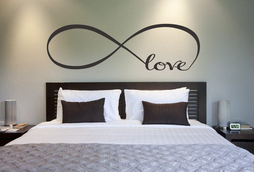 Best Love Infinity Symbol Bedroom Wall Decal Love Decor Love With Pictures