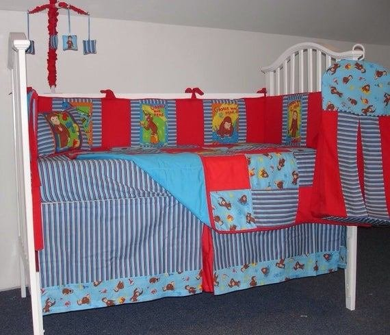 Best Curious George Painting Boutique Nursery By Littleangelslinens With Pictures