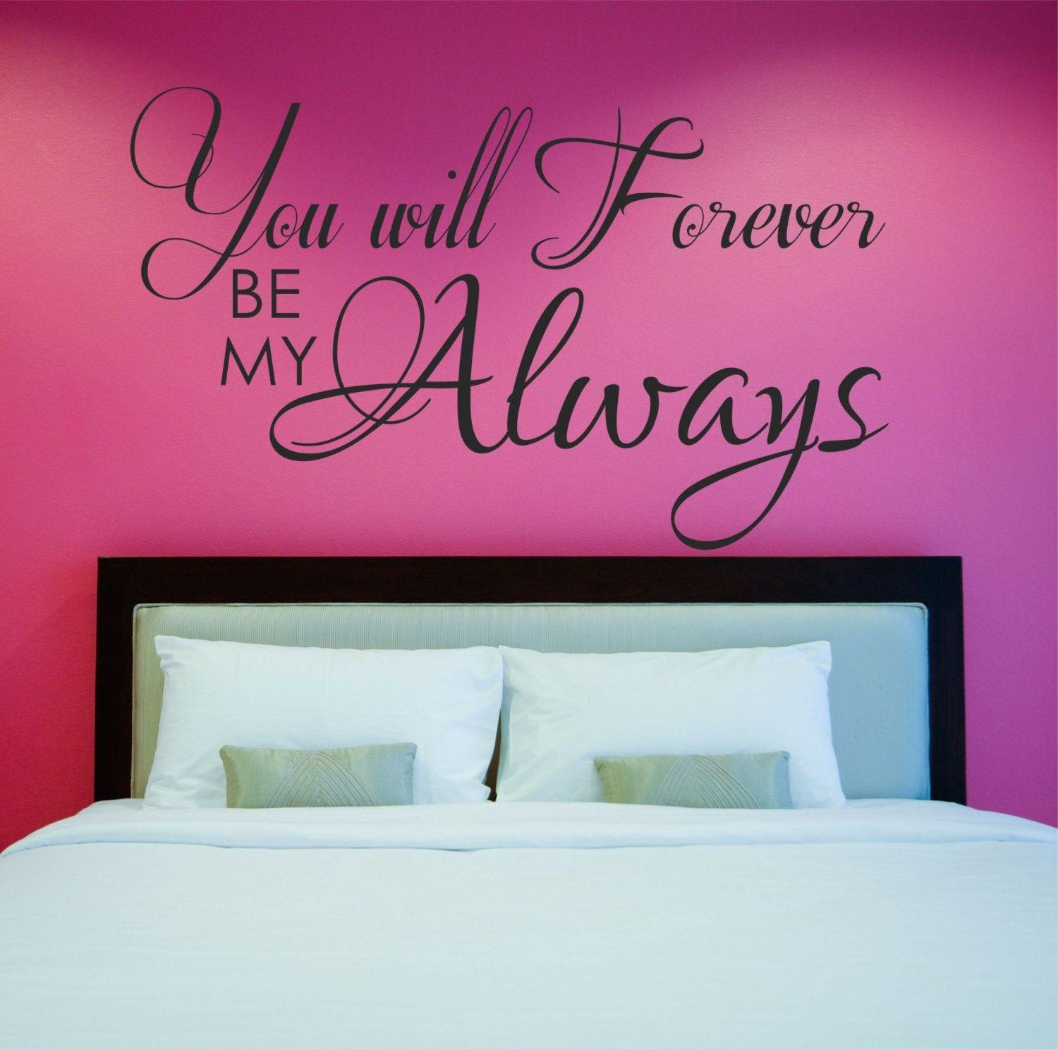 Best Love Quote Decal Master Bedroom Wall Decal Vinyl Wall Quote With Pictures