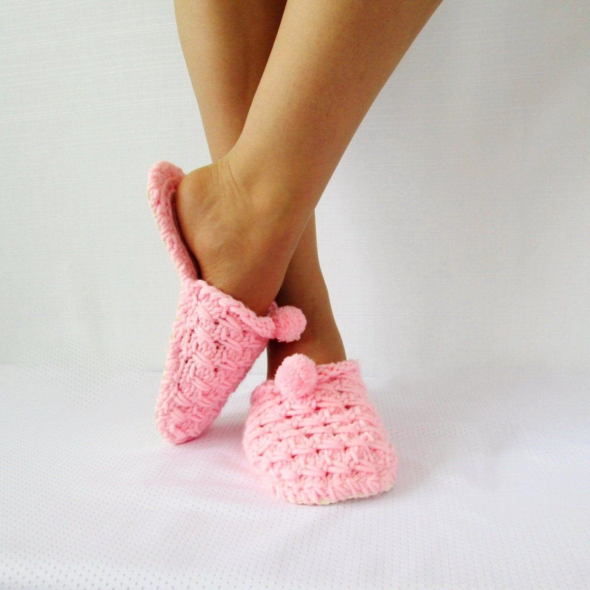 Best Bedroom Slippers Pink Slippers House Slippers Cute Slippers With Pictures