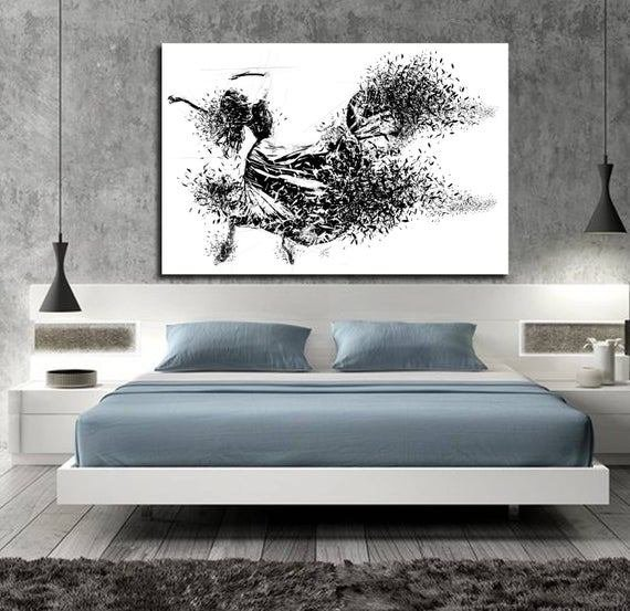 Best Canvas Art Sensual Bedroom Wall Decor Minimalist Bedroom With Pictures