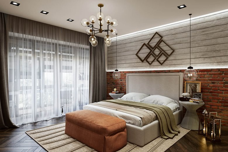 Best 3D Bedroom Rendering Contemporary Design Archicgi With Pictures