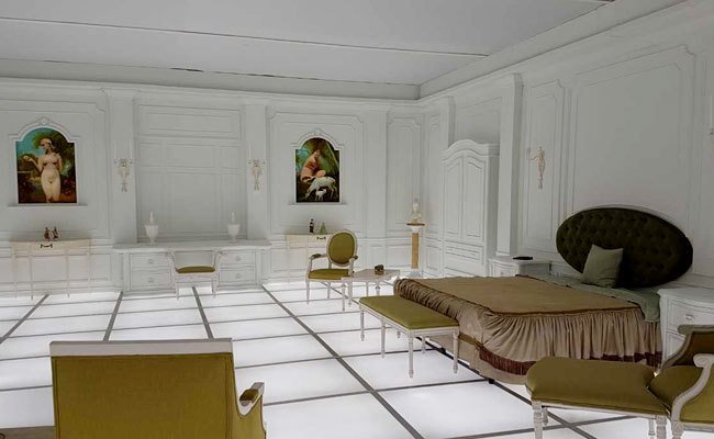 Best Replica Of Bedroom In 2001 A Space Odyssey On Display In Washington With Pictures