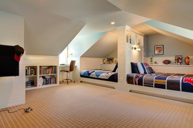 Best 21 Attic Bedroom For Kids Inspirationseek Com With Pictures
