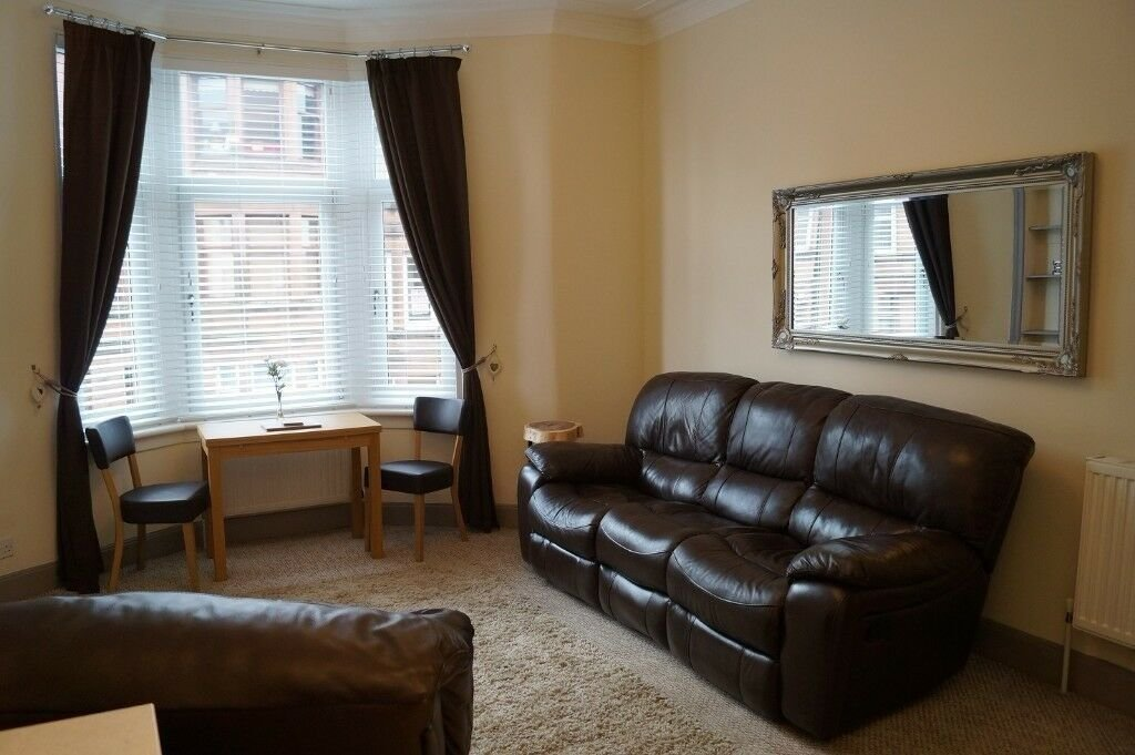 Best Immaculate One Bedroom Flat To Rent Glasgow West End G13 With Pictures