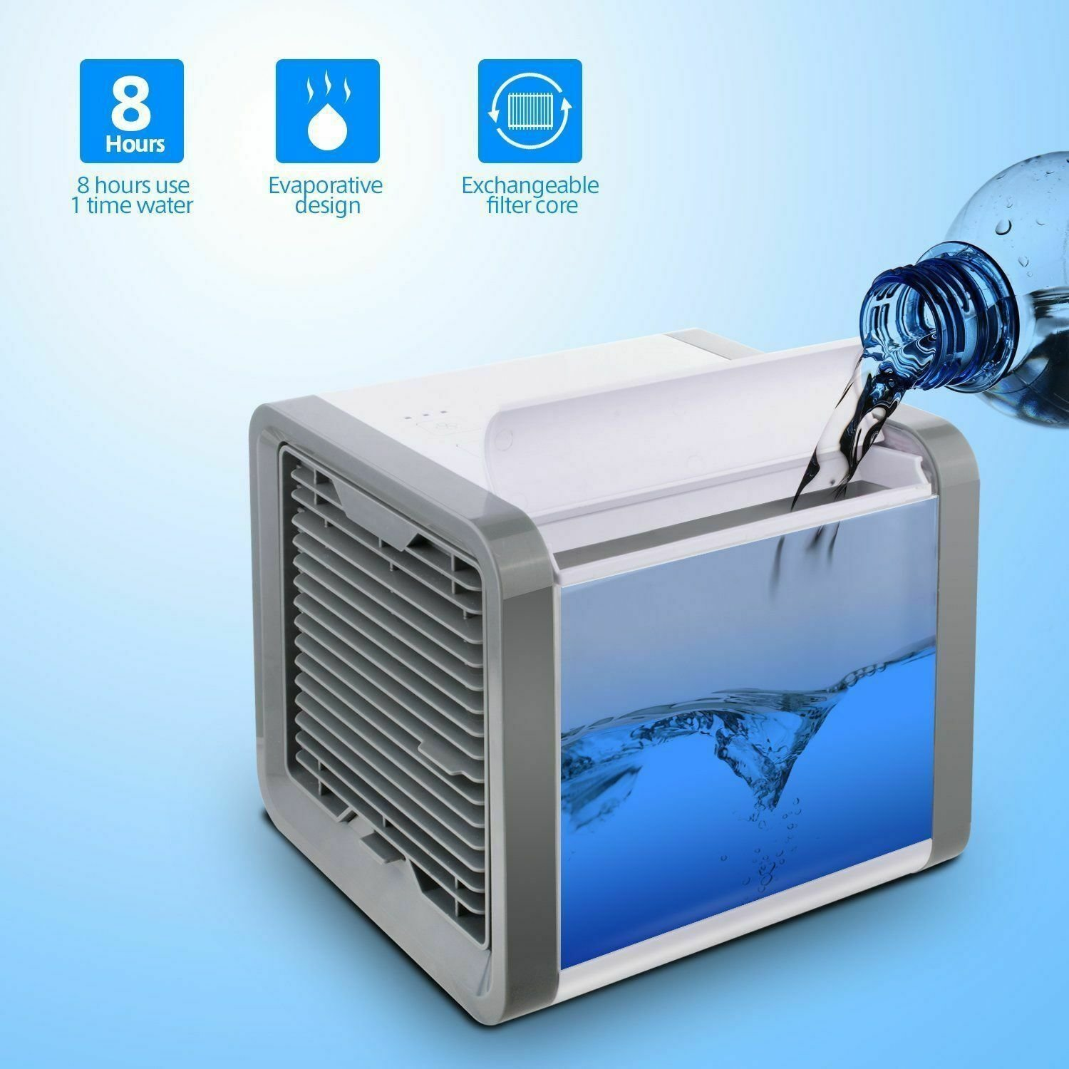 Best Portable Mini Air Conditioner Cool Cooling For Bedroom With Pictures