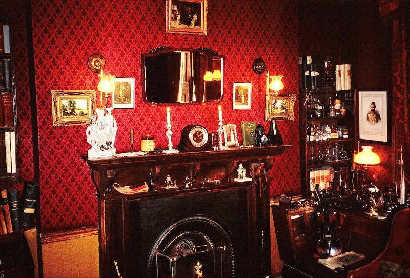 Best Sherlock Holmes Drawing Room A Photo From London With Pictures