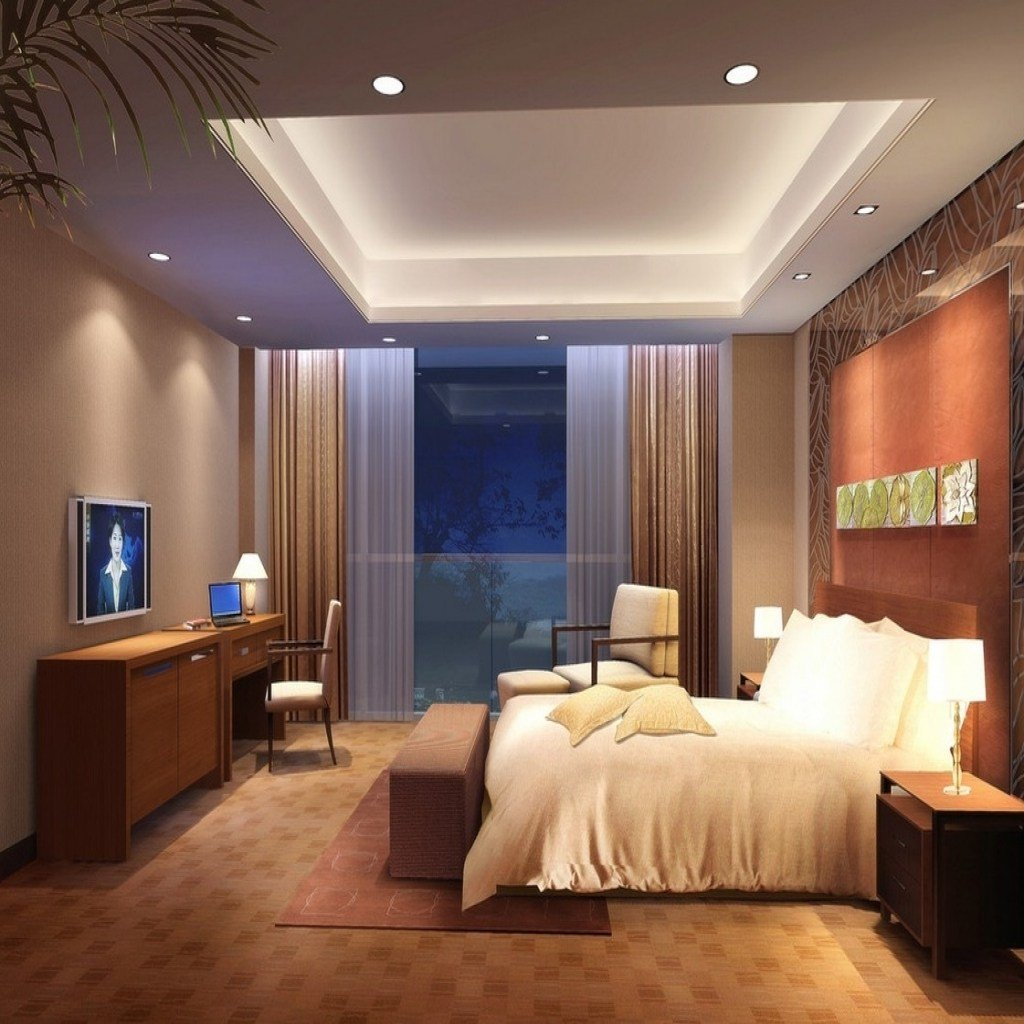 Best Bedroom Ceiling Lights Regarding Encourage – Marie Higgins With Pictures