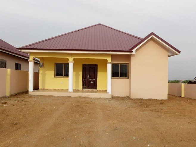 Best 2 Bedroom Detached House For Sale In Kasoa Unit Details With Pictures