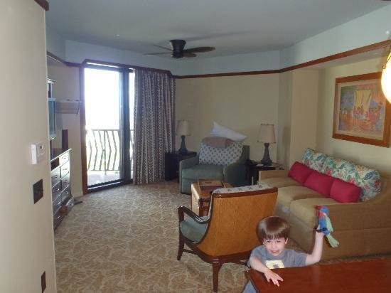 Best Living Area In 2 Bedroom Dvc Villa Picture Of Aulani A With Pictures