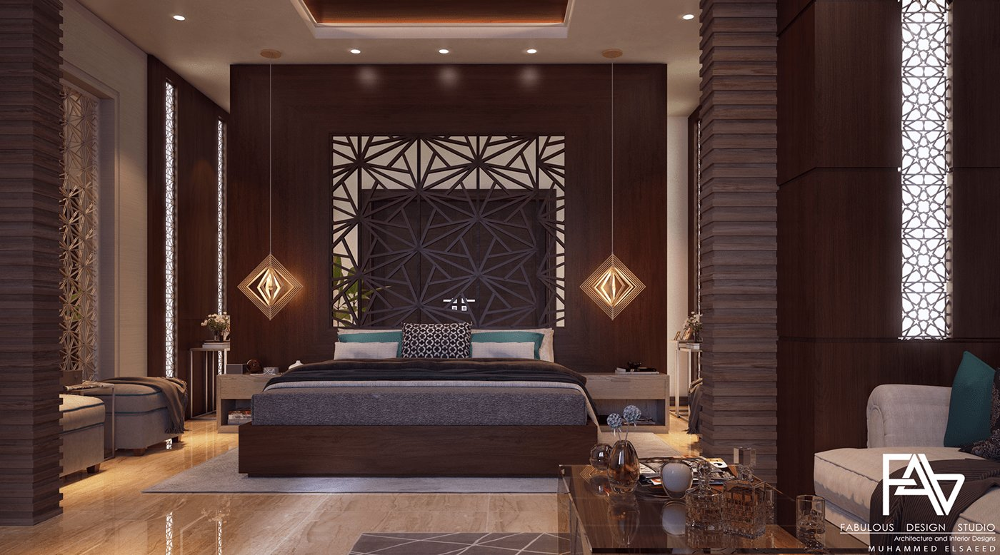 Best Modern Islamic Master Bedroom On Behance With Pictures