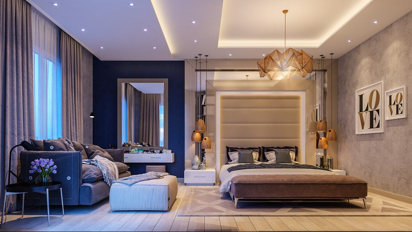 Best Modern Master Bedroom On Behance With Pictures