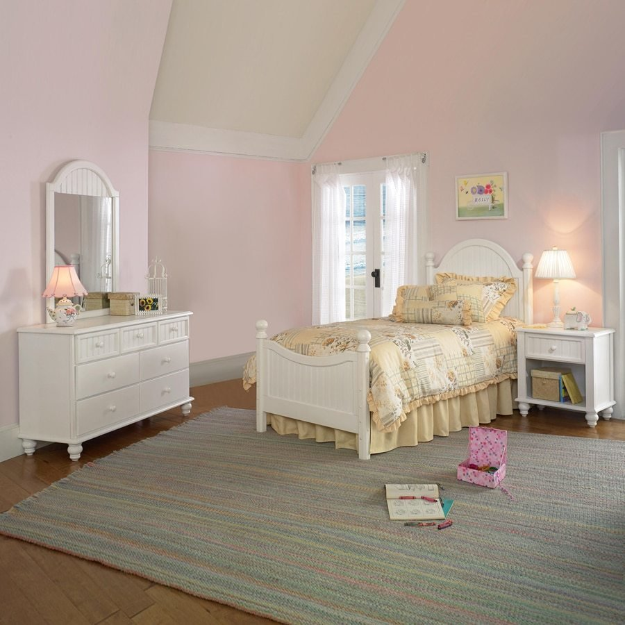Best Hillsdale Furniture Westfield Off White Twin Bedroom Set With Pictures