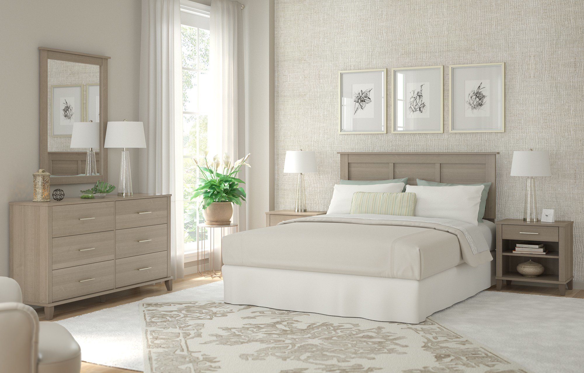 Best Bush Furniture Launches Somerset Bedroom Collection With Pictures
