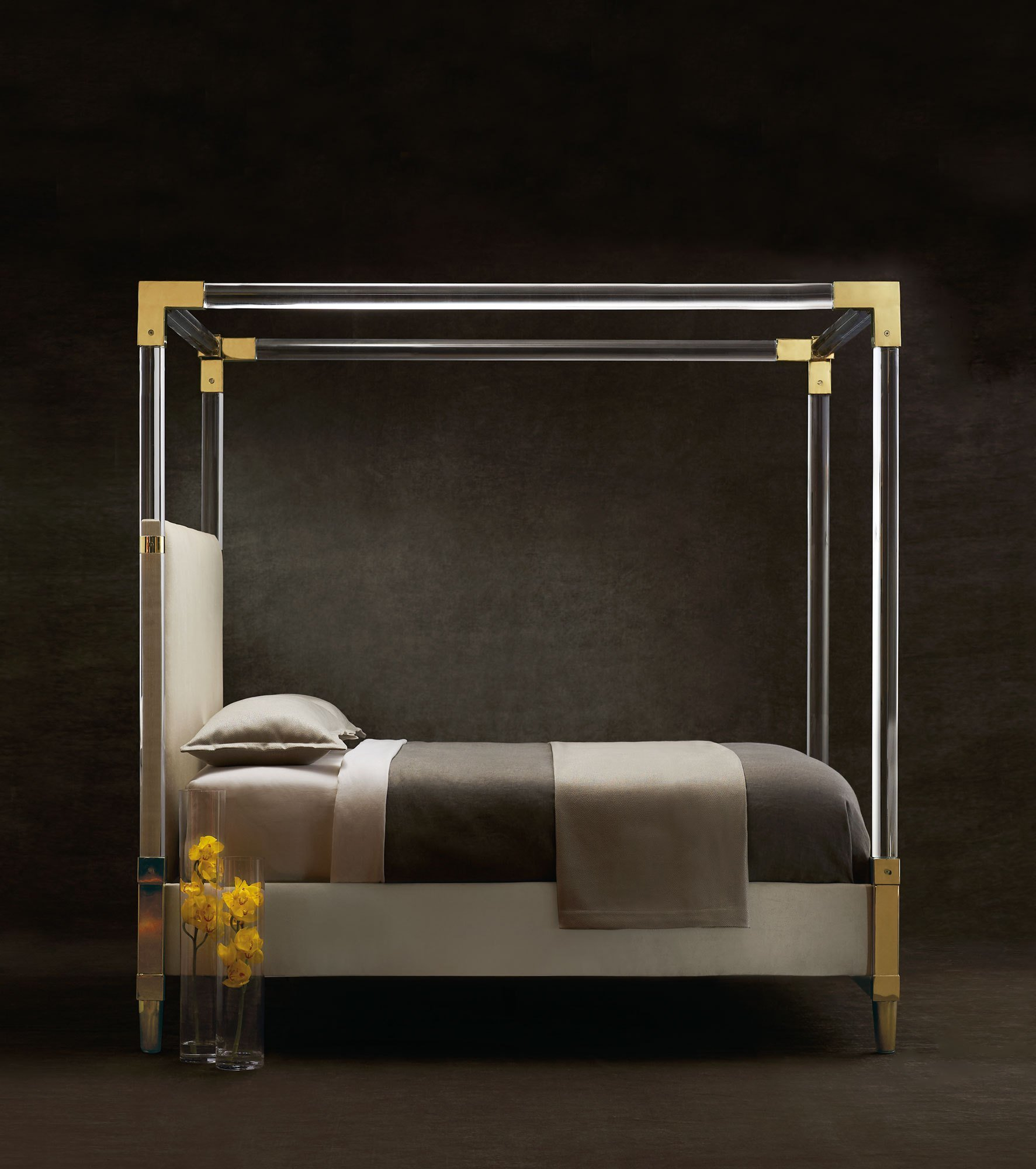 Best Aiden Acrylic Bed Bernhardt With Pictures