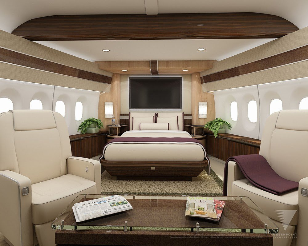 Best Interior Options For Private Jets Privatefly Blog With Pictures