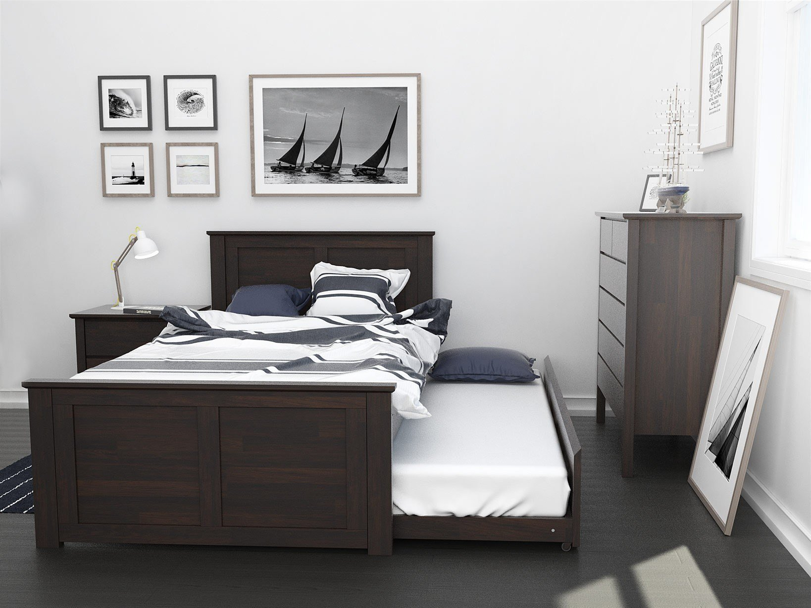 Best King Single Bedroom Suites With Trundle 50 75 Off Sale With Pictures