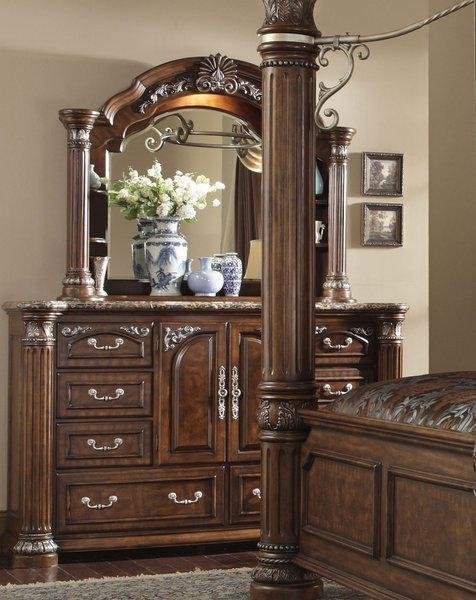 Best The Monte Carlo Ii Cafe Noir Formal Bedroom Collection With Pictures