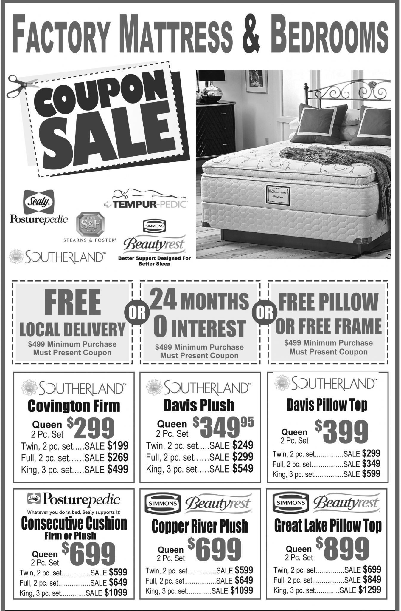 Best Specials Factory Mattress And Bedrooms Mattresses With Pictures