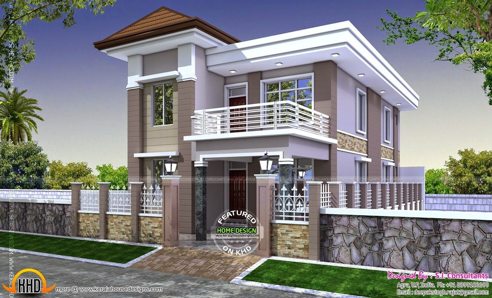 Best Ordinary Three Bedroom House Plan India Modern House With Pictures