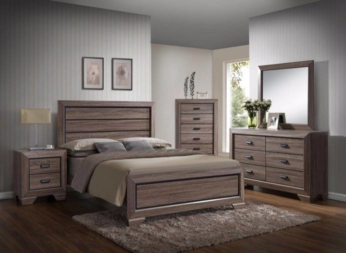 Best Crown Mark B5500 Farrow Subtle Grey Brown Finish Solid With Pictures
