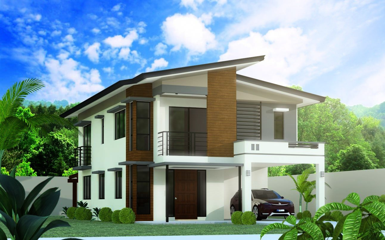 Best Model 5 4 Bedroom 2 Story House Design Negros With Pictures