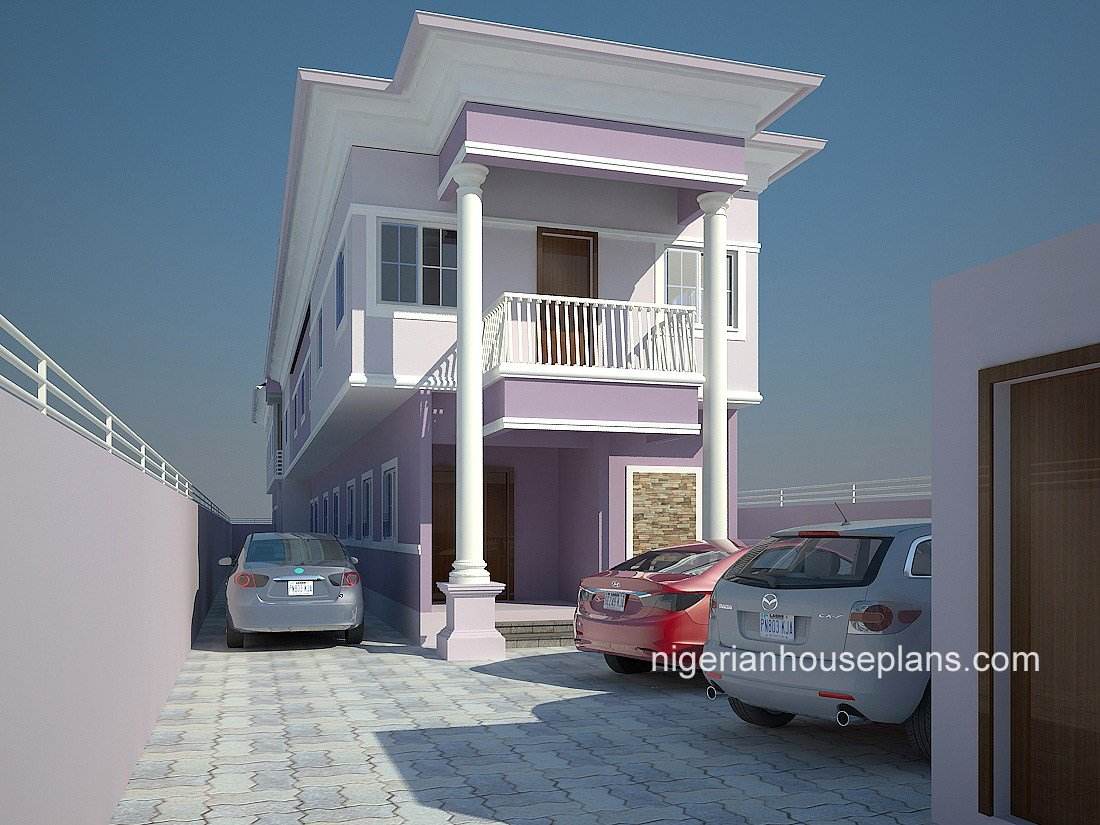 Best 2 Bedrooms Archives Nigerianhouseplans With Pictures
