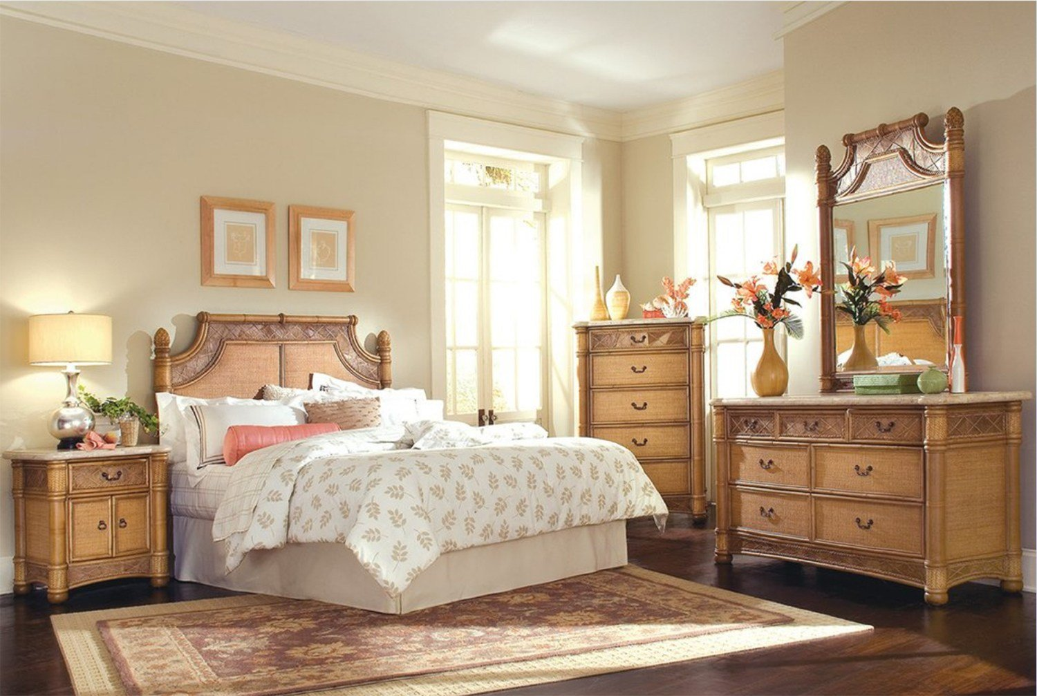 Best Valencia 4 Pc Bedroom Set Model 9015 By Capris Furniture With Pictures