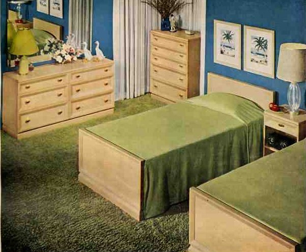 Best 50S Bedroom A Very Typical Bedroom Set Of Drexel With Pictures