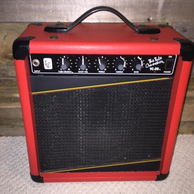 Best Gorilla Tc 35 1987 Red Ultra Rare Red Practice Bedroom Amp With Pictures