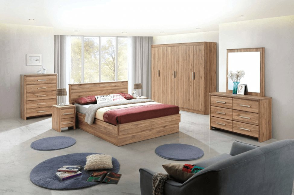 Best Montana 5 Pc Bedroom Set Bedroom Suites Lifestyle Furniture With Pictures