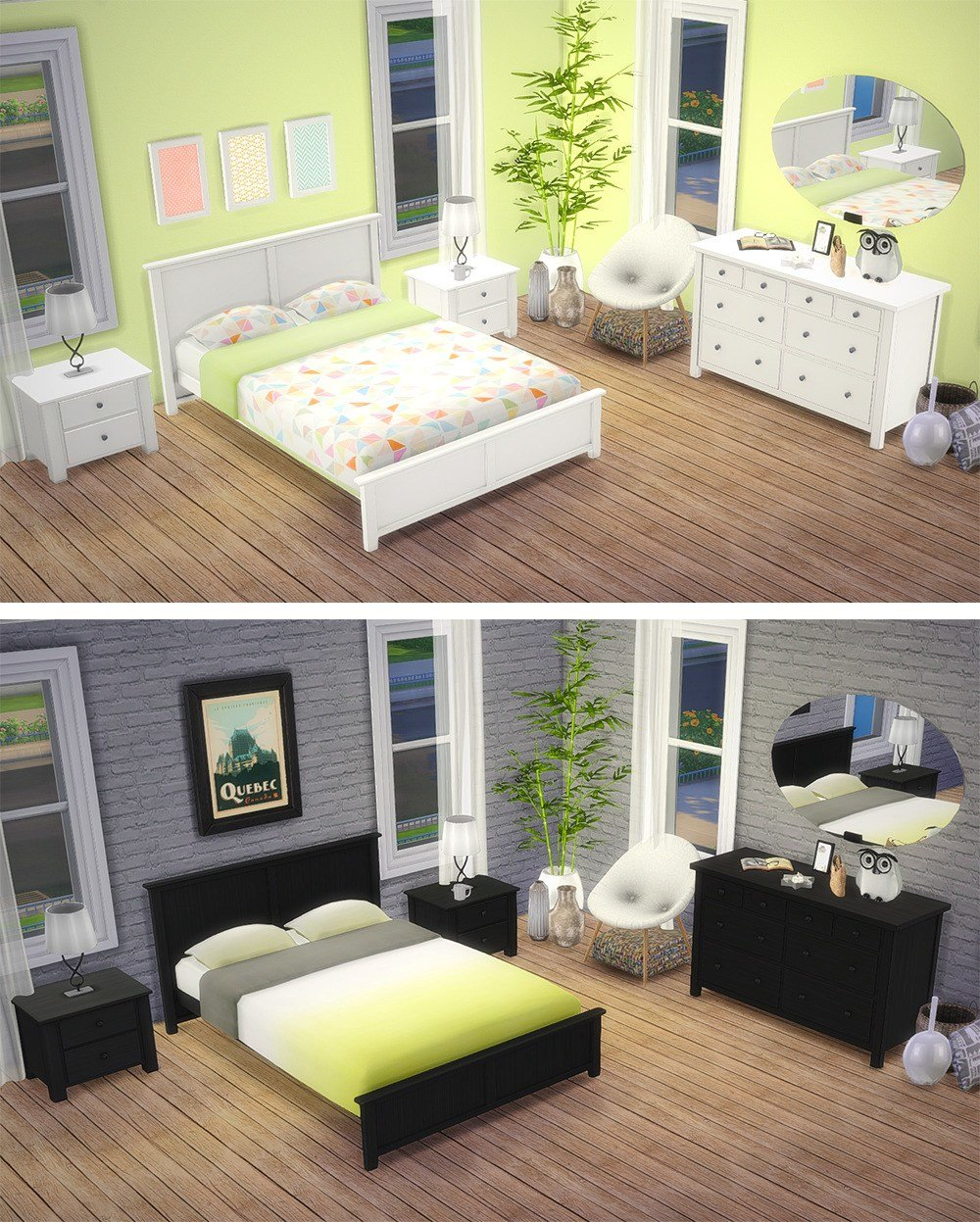 Best Sims 4 Bedroom Set Tumblr With Pictures
