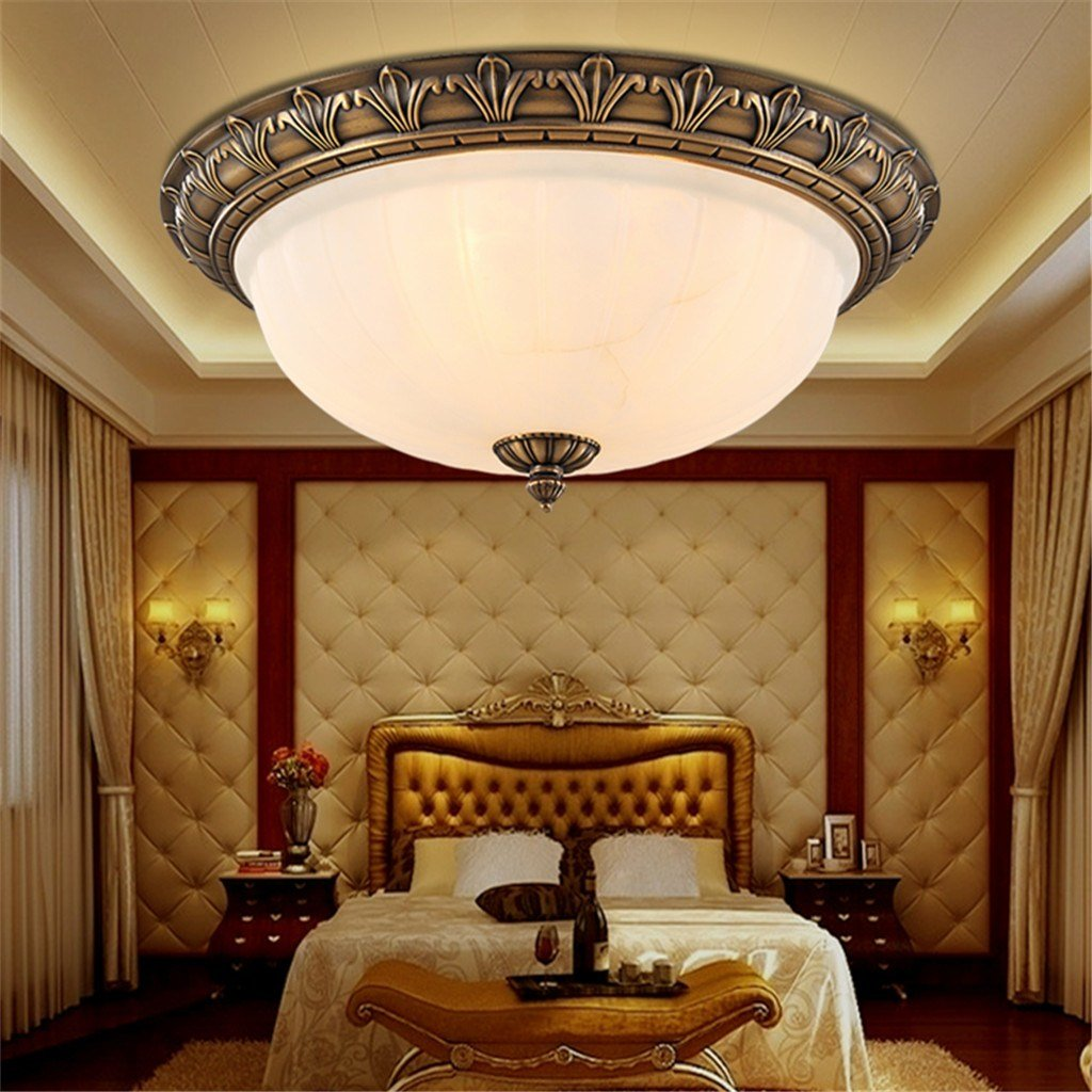 Best Antique Retro European Style Ceiling Chandelier 2 4 Lights With Pictures