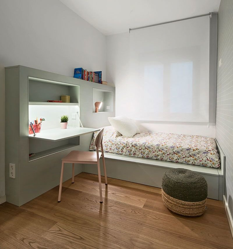Best Desk Embedded Bed Furniture Small Bedroom Furniture With Pictures