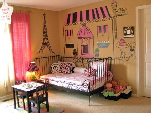 Best French Themed Girls Bedrooms Decorating Home Garden With Pictures