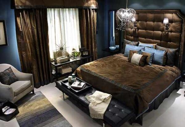 Best Blue And Brown Bedrooms Design Ideas With Pictures