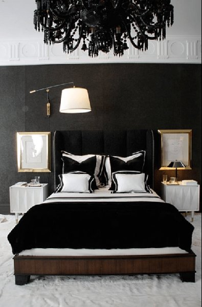 Best Black And White Bedroom Design Ideas With Pictures