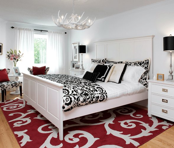 Best Damask Duvet Contemporary Bedroom Brandon Barre With Pictures