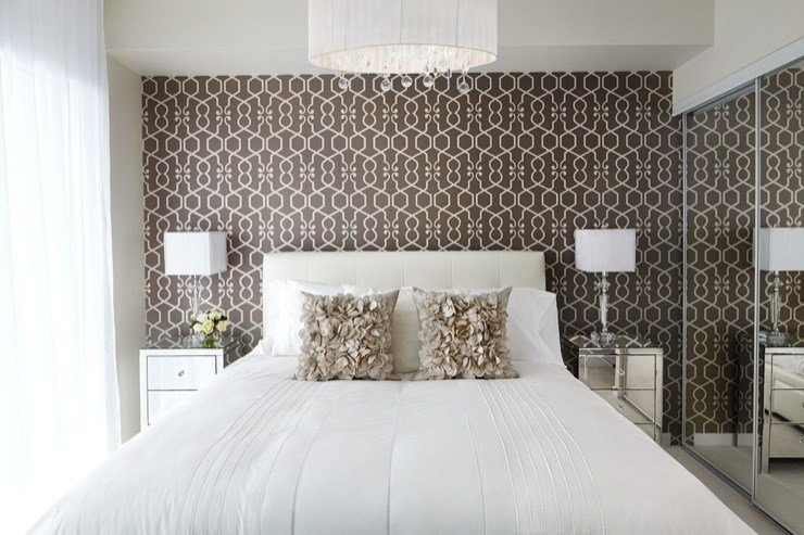 Best Wallpaper Accent Wall Design Ideas With Pictures