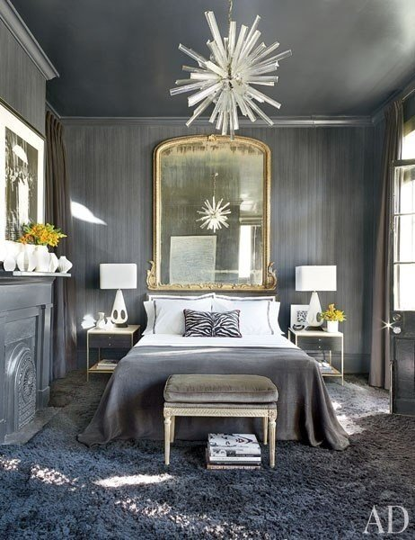 Best Gray Bedroom Eclectic Bedroom Architectural Digest With Pictures